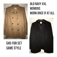 Women's Old Navy Coats wool blend pea coats