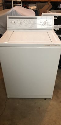 White top-load clothes washer Orient, 43146