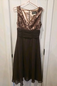 Pretty Brown Dress with lace flowers  Dumfries, 22026