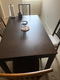 Wooden dining table + 6 chairs Silver Spring, 20910