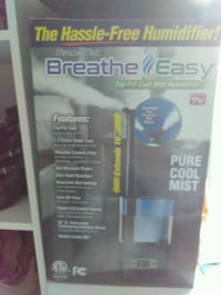 Breathe easy humidifier...25 or best offer Baltimore, 21216