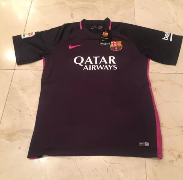 the latest 9e43f 0386c LIONEL MESSI NIKE FC BARCELONA AWAY JERSEY 2016/17