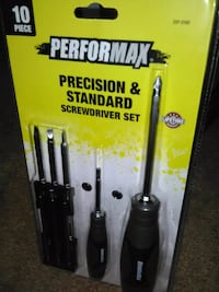 10 pc. Precision & standard screwdriver set* new
