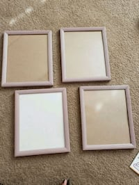 (4) 8x10 picture frames Apple Valley, 92308