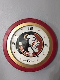 Florida State wall mounted clock. Westminster, 80005