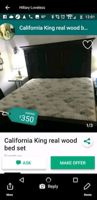 California King bed set Apollo Beach, 33572