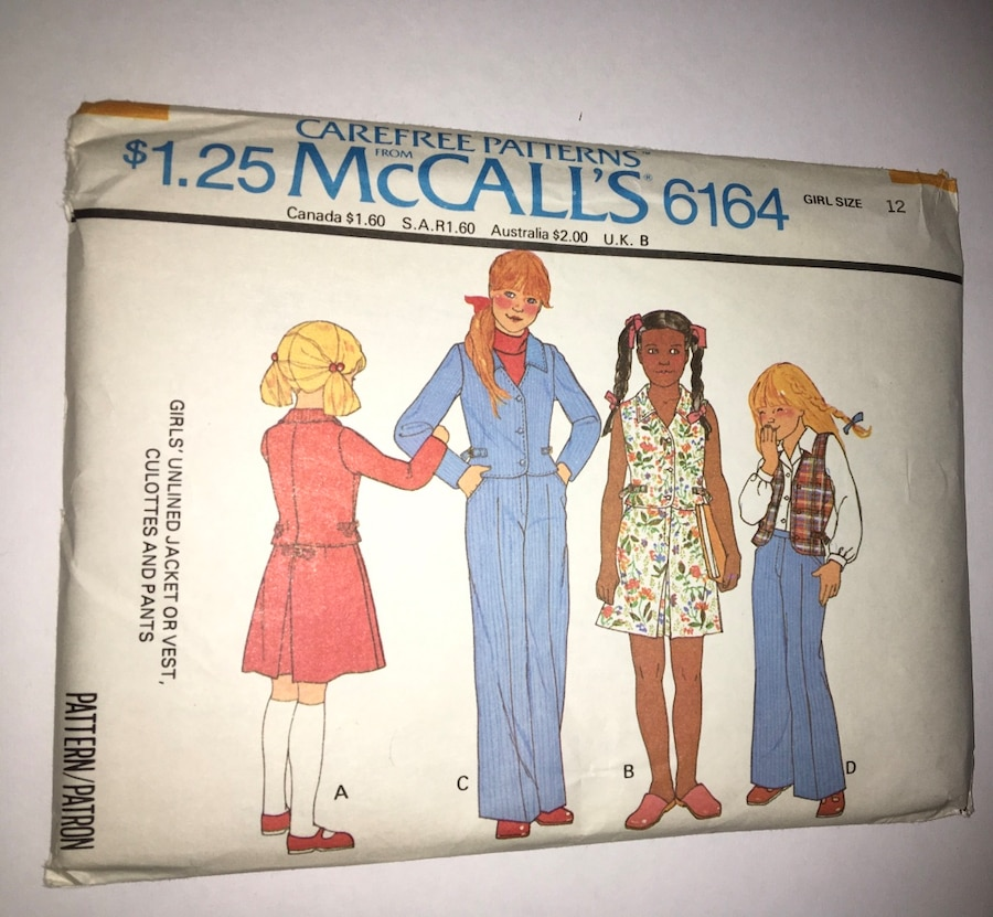 Used 5 Vintage children sewing patterns with great illustrations in ...