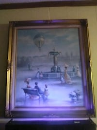 Large CHARLES PARKER Painting