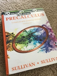 Precalculus enhanced with Graphing Utilities, seventh edition  Fairfax, 22031