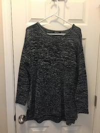 Women's XL - Black/Grey/White Sweater from Macy's Eugene