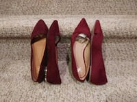 $25 each New Women's Size 9 Maroon Flats Woodbridge, 22193
