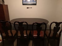 Wooden Dining Extending Table w/ Chairs District Heights, 20747