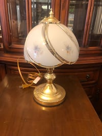 white and brown table lamp Banning, 92220