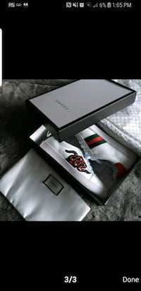 use gucci sneakers..size 10men Anaheim, 92804