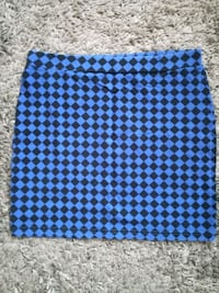 Checkered mini skirt 6646 km