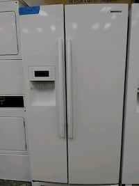 samsung side by side refrigerator excellent conditions Bowie, 20715