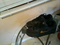 Size 10.5 Black and Gold Nike AirMax Plant City