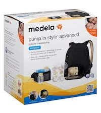 Medela Advanced Pump In Style Backpack Dual Breast Pump Richmond, 23219