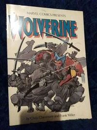 Marvel Wolverine Graphic Novel Baltimore, 21206