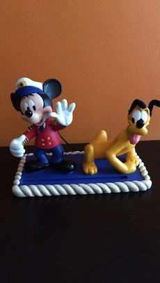 Mickey Mouse and Pluto figurine