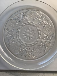Depression ware plate with Indent for cup Fairhope, 36532