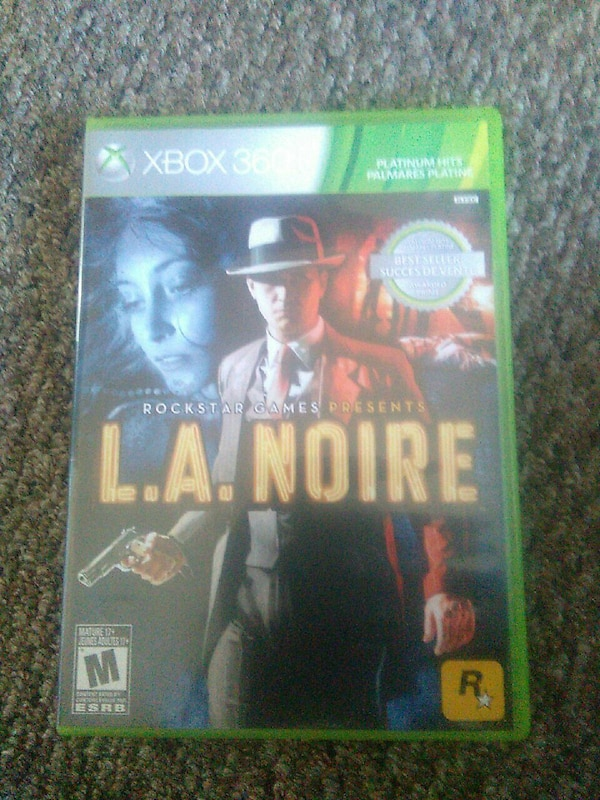 La noire best seller platnum hits game