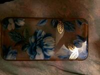 blue and white floral print textile iPhone 6 case Wichita, 67218