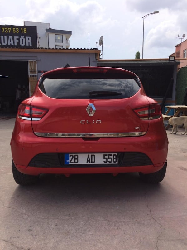2012 Renault Clio YENI CLIO TOUCH 1.5 DCI 90 BG STOP&START 10581ee5-2e22-4709-a5cc-082864f715f2
