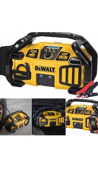 Dewalt 2800 Amp Power Station 1000 Watts Inverter, 120 PSI Compressor-New Kentwood, 49546