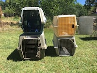 Dog crates. $20 each Used for transporting small dogs (I had Shelties) Jefferson, 97352