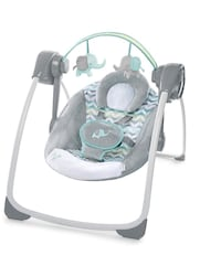 baby's white and gray swing chair Montréal, H3H