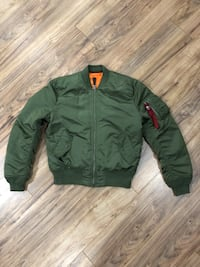 Alpha Industries MA-1 Bomber Sterling, 20164