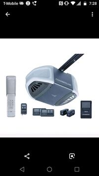 garage door opener installation Wellington