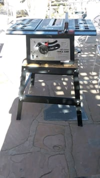 "Chicago electric 10"" steal table saw"