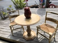 Vintage 3 pc table chairs set New Port Richey, FL, USA