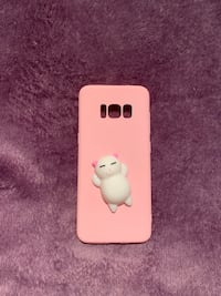 Squishy Cat Pink Case for Samsung Galaxy S8 Coquitlam, V3B 6S5