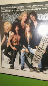 sign Rollingstone Guns N' Roses Outta Control post Nicholasville, 40356