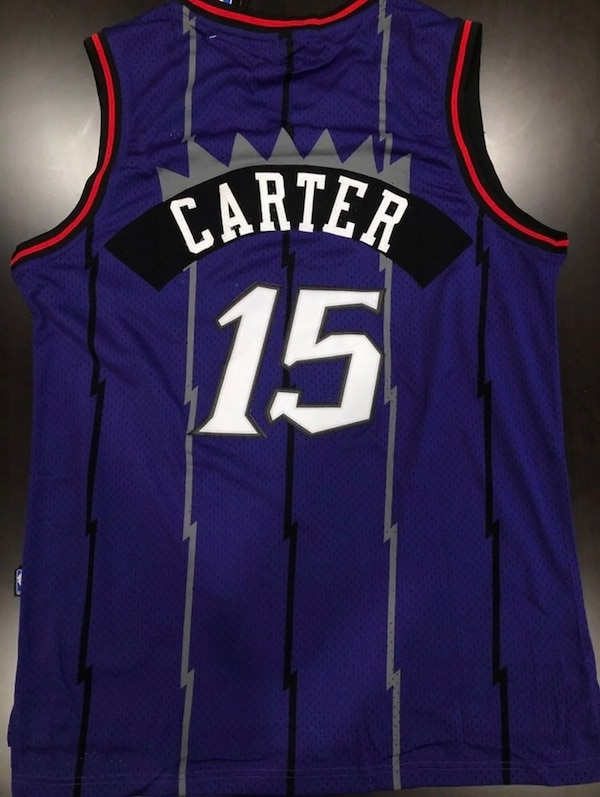 official photos 5f9c0 26563 Vince Carter Toronto Raptors Throwback Jersey | New Men's XL