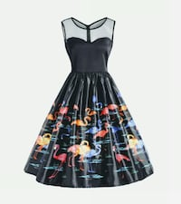 New! Rockabilly/Pin up/50s Style dress