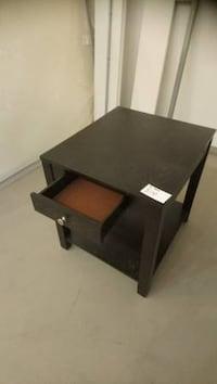 *BRAND NEW* Espresso Side/End Table with Drawer