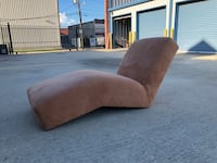 brown and gray fabric sofa chair Metairie, 70002