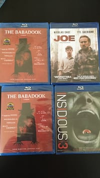 four Blu-ray DVD cases Shawville, J0X 2Y0