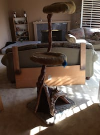 Deluxe cat tree. Made of driftwood New Westminster, V3L 1J7