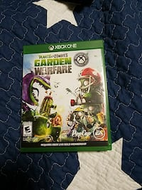 Plants vs Zombies Garden Warfare Xbox one game case Hastings, 55033