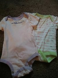 baby's two assorted onesies Columbus, 31903