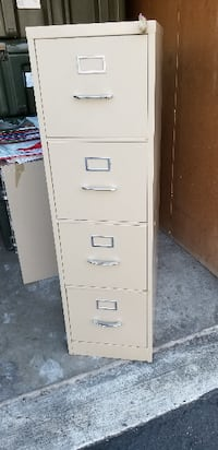 File Cabinet Four Drawer