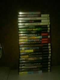 Lot of ps2 games and Xbox 360