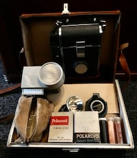 The Polaroid land camera model 150 Wilmington, 01887