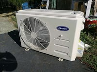 Carrier split unit ductless heater/air conditioning