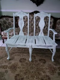 Custom Two Chair Bench. San Antonio, 78227